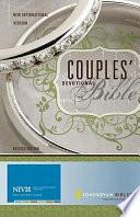 Couples' Devotional Bible (NIV) Devotions That Reflect The Concerns Couples Face