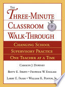 The Three Minute Classroom Walk Through