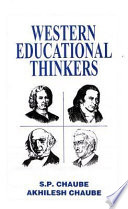 Western Educational Thinkers