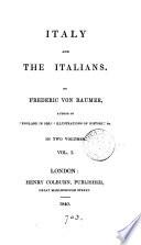 Italy and the Italians