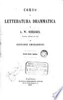 Corso di letteratura drammatica di versione italiana con note di Giovanni Gherardini