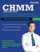 Chmm Exam Study Guide