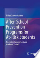 After School Prevention Programs for At Risk Students