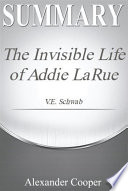 Book Summary The Invisible Life of Addie LaRue