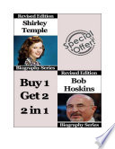 Celebrity Biographies   The Amazing Life Of Shirley Temple and Bob Hoskins   Famous Stars