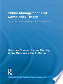 Public Management And Complexity Theory
