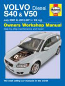 Volvo S40 and V50 Diesel  07 13  07 to 62