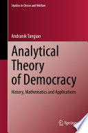 Analytical Theory Of Democracy
