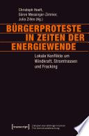 Bürgerproteste in Zeiten der Energiewende