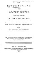 The Constitutions of the United States