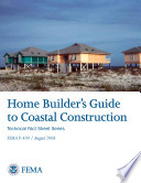 Home Builder s Guide to Coastal Construction   Technical Fact Sheet Series