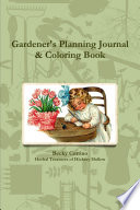 Gardener s Planning Journal   Coloring Book