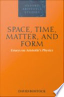Space  Time  Matter  and Form