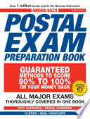 Norman Hall s Postal Exam Preparation Book