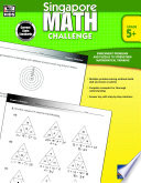 Singapore Math Challenge  Grades 5   8