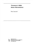 Transact-SQL Desk Reference