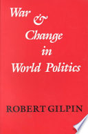 War and Change in World Politics