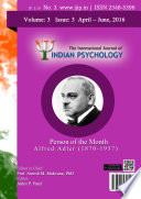 The International Journal of Indian Psychology, Volume 3, Issue 3, No. 3