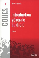 illustration Introduction générale au droit