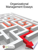 Organizational Management Essays