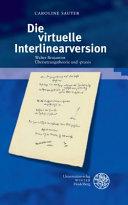 Die virtuelle Interlinearversion