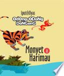 Odong-Odong Dongeng : Monyet dan Harimau Sampul Buku