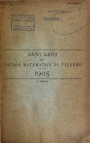 Annuario del Circolo matematico di Palermo