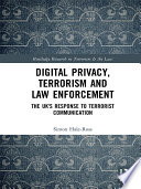 Digital Privacy  Terrorism and Law Enforcement
