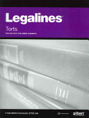 Legalines on Torts