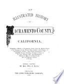 An Illustrated History of Sacramento County  California