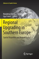 Regional Upgrading in Southern Europe Academics Economic Geography Spatial Planning And Regional
