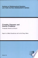 Complex Datasets and Inverse Problems