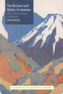 The Structure and History of Japanese Varieties Of The Language In Which