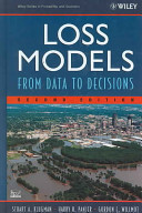 Loss Models  Textbook and Solutions Manual
