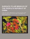 Surface To Air Missiles of the People s Republic of China