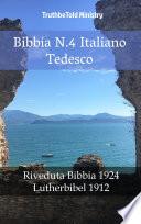 Bibbia N 4 Italiano Tedesco