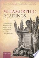 Metamorphic Readings Book PDF