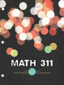 Math 311 Linear Algebra and Vector Calculus  Texas Aamp m University