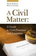 A Civil Matter