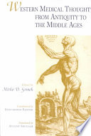 Western Medical Thought from Antiquity to the Middle Ages