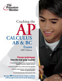 Cracking the AP Calculus AB   BC Exams