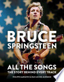 Book Bruce Springsteen  All the Songs
