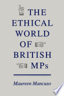 Ethical World of British MPs