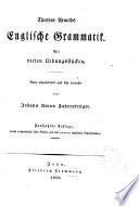 Theodor Arnolds Englische Grammatik