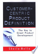Customer Centric Product Definition