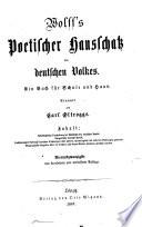 Wolffs poetischer Hausschatz des deutschen Volkes