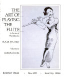 The Art of Playing the Flute  Embouchure
