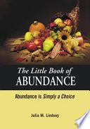 The Little Book Of Abundance Abundance Is Simply A Choice
