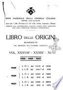 Libro delle origini dei cani iscritti nei libri genealogici italiani