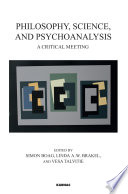 Philosophy  Science  and Psychoanalysis